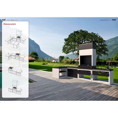 bilder outdoor kã chen design grillkamin aus der kitaway outdoork 252 chen serie
