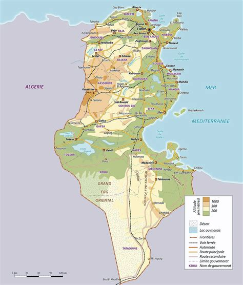 where is tunisia in the world map maps of tunisia map library maps of the world