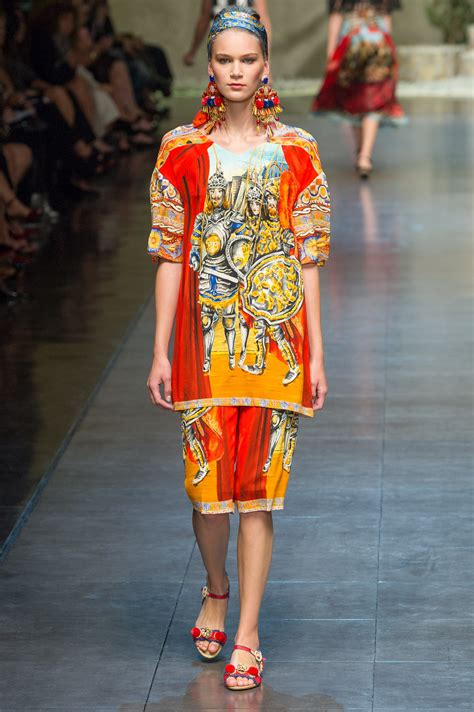frockage dolce gabbana spring  rtw collection