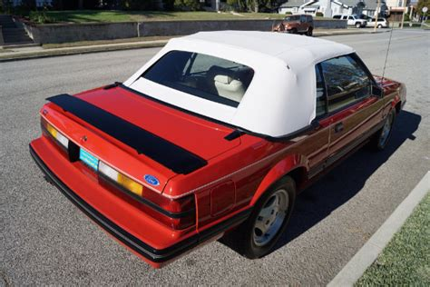 ford opal 1983 ford mustang glx opal stock 293 for sale near