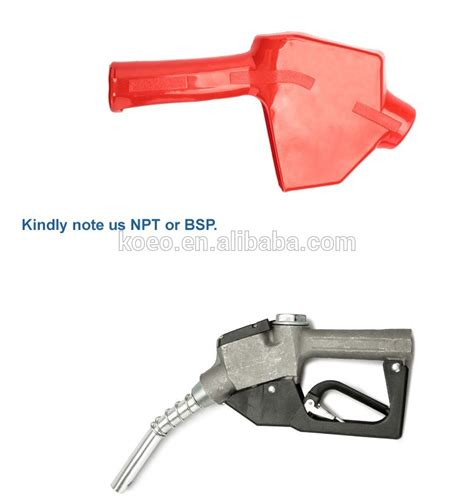 Sale Nozzle Gun 3 4 Inch Dispenser Pertamina Spbu Putih self styled automatic fuel nozzle 3 4 inlet 13 15 spout opw fuel dispenser nozzles