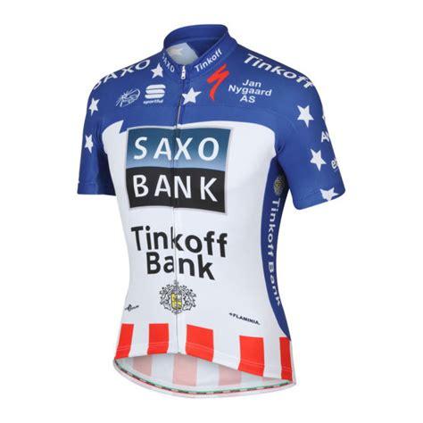 saxo bank tinkoff saxo bank tinkoff bank team usa ch pro team ss jersey
