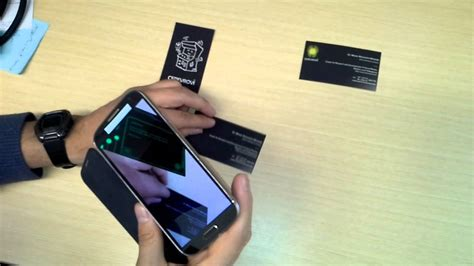 how to make augmented reality cards augmented reality business cards