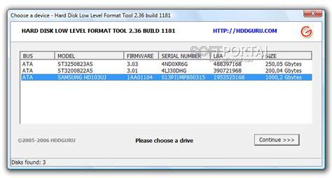 low level format adalah cara mengatasi hardisk flashdisk yang bad sector