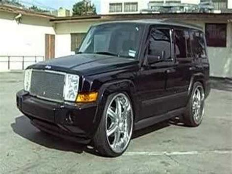 Jeep Commander On 22 Car Club Jeep Commander