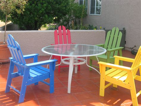 green frogs recycled plastic outdoor furniture blog