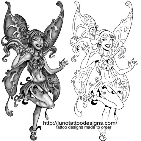 fairy tattoos custom tattoos made to order by juno