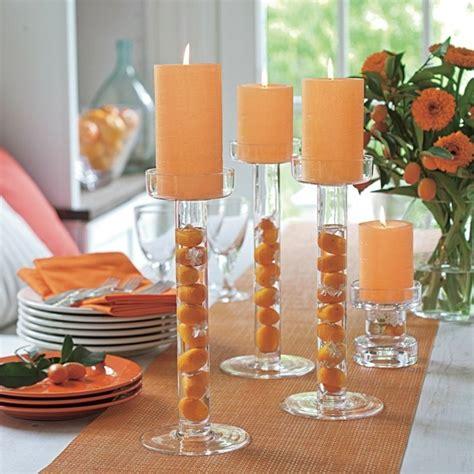 kerzenhalter orange kerzenhalter basteln 35 beispiele dass kerzenhalter