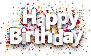 happy birthday paper confetti vector material 02 vector