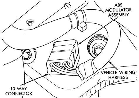 repair anti lock braking 1995 chrysler lebaron interior lighting repair guides bendix system 4 anti lock brake system modulator assembly autozone com