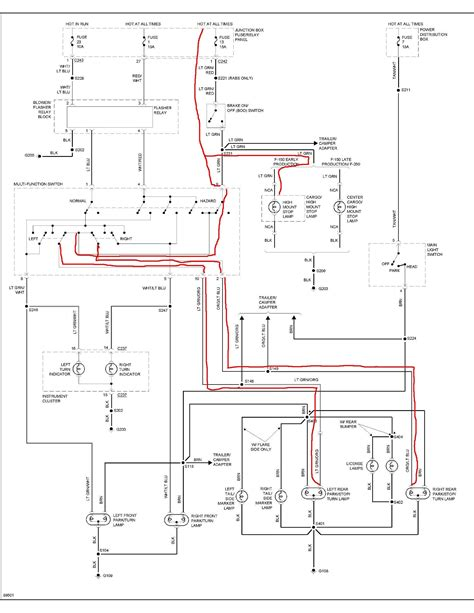 toyota pickup tail light wiring diagram wiring diagram