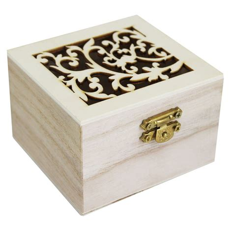 craft box small wooden box craft storage at the works