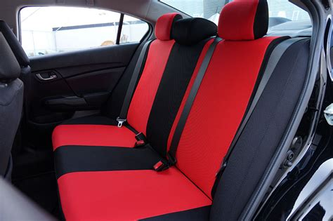 Honda Civic Seat Covers by Honda Civic 2012 2014 Spacer Mesh Custom Fit Made Seat