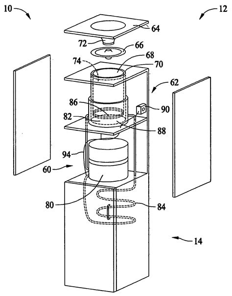 water dispenser diagram primo water dispenser parts diagram automatic soap dispenser