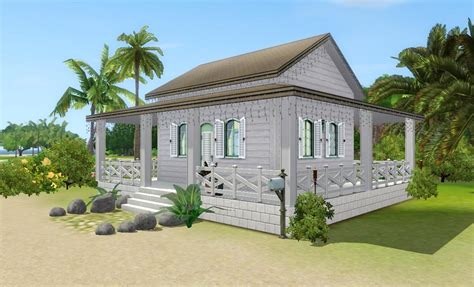 beach home plans sims 3 beach house floor plans
