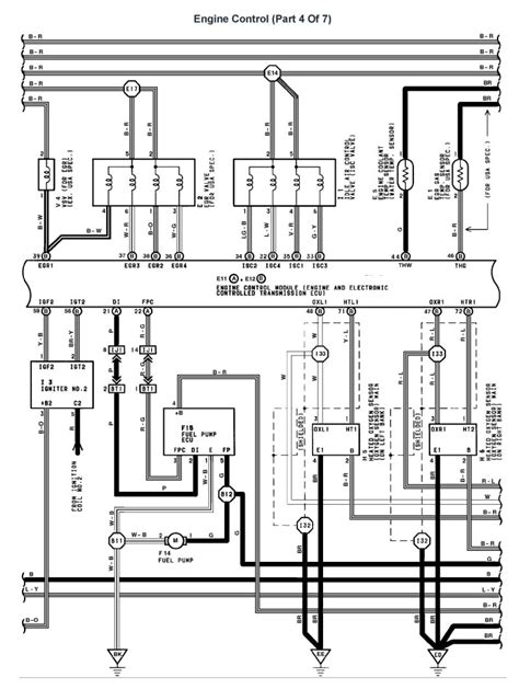 ls400 headlight wiring diagram bluebird alternator wiring