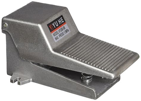 foot pedal operated gray 2 position 3 way momentary foot pedal operated