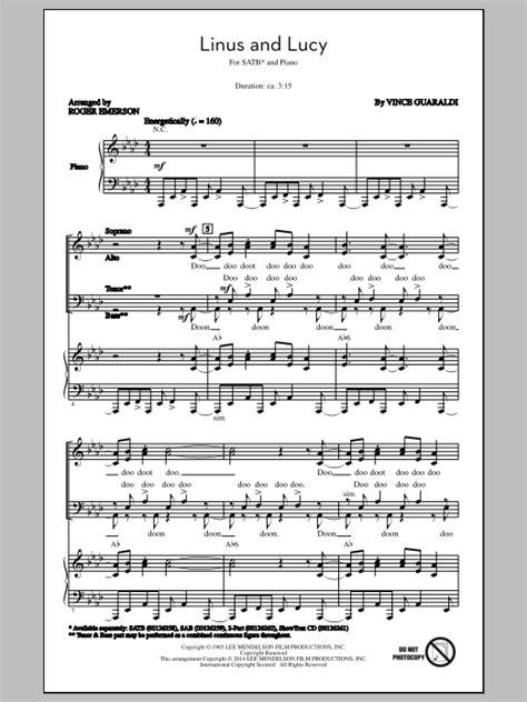 lyrics linus linus and sheet direct