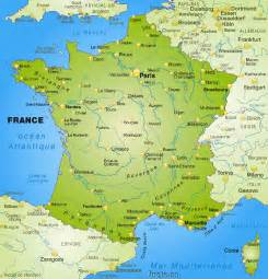 Physical Map Of France by France Map Blank Political France Map With Cities
