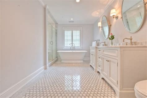 white hexagon tile bathroom marble hex tile bathroom master bath pinterest