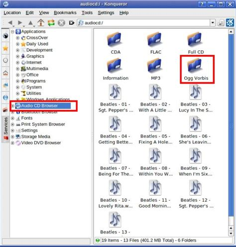 format file for audio cd klikit linux wiki ripping audio cds in konqueror file