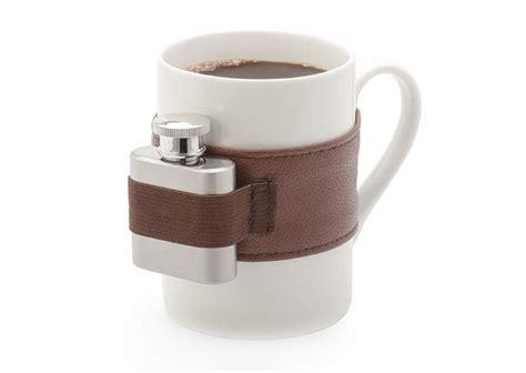 Mini Kitchen Design extra shot coffee mug plus mini flask the green head