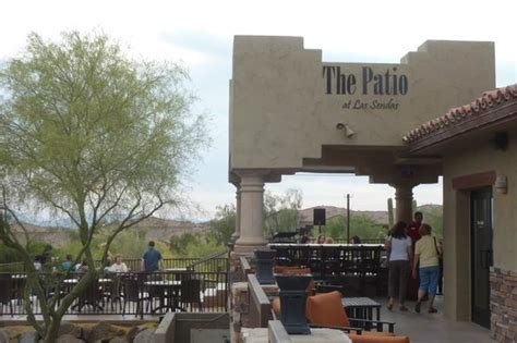 Patio Bar Restaurant Picture Of Las Sendas Golf Club The Patio At Las Sendas