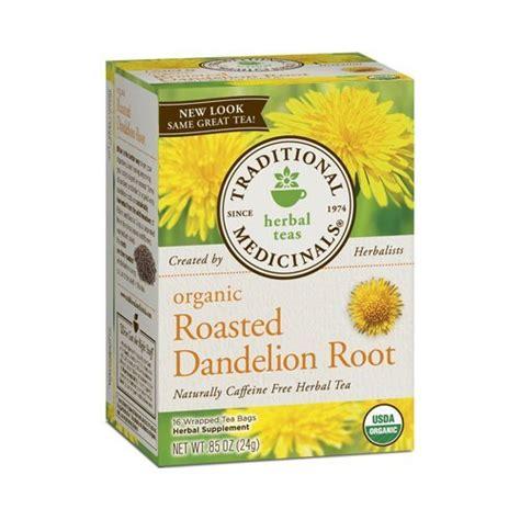 Dandelion Root Tea Detox Reviews by Traditional Medicinals Organic Roasted Dandelion Root Tea