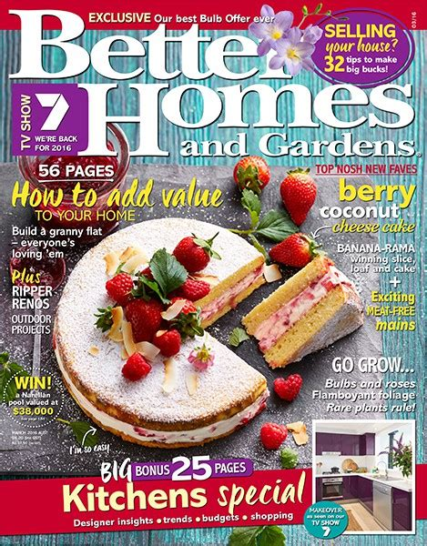 Better Homes And Gardens Magazine Phone Number by Free 1 Year Subscription To Better Homes Garden