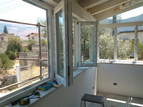 chiusura veranda con vetri veranda in pvc con vetri a doppia sicilinfissi snc