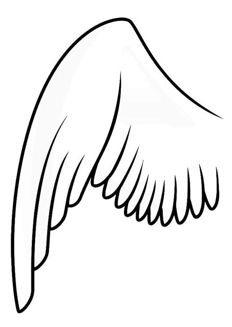 bird wing coloring page coloring page left wing img 20687