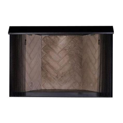 Gas Fireplace Embers Home Depot by Emberglow 32 In Vent Free Firebox Insert Vfb32 The Home Depot