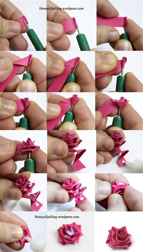 Paper Quilling How To Make - pin by racoma on quilling
