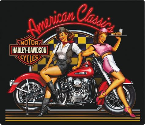 imagenes pin up hd harley davidson motorcycle diner pin up girls sign