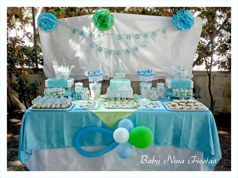 Adornos Para Baby Shower De Nino by Baby Fiestas Baby Shower