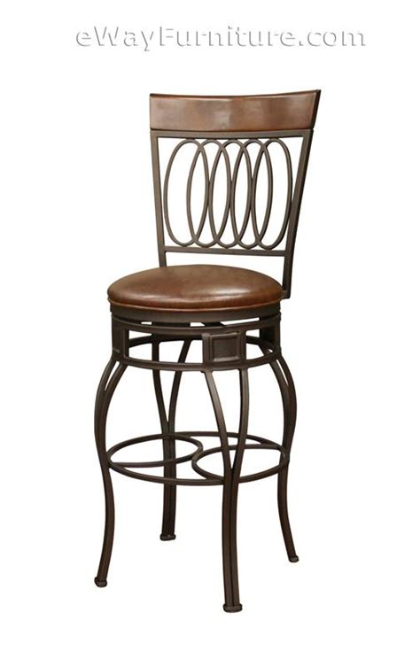 height of bar stools for 45 counter 2 26 quot fairfield wheat metal swivel counter height
