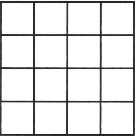 Printable Graph Paper With Large Squares | search results for blank square grid calendar 2015