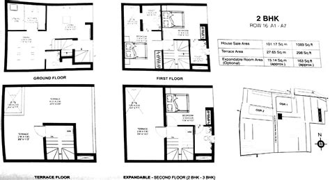 1st floor plan overview growing up in a frank lloyd wright house by kim bixler 1089 sq ft 2 bhk 2t villa for sale in dugar homes growing