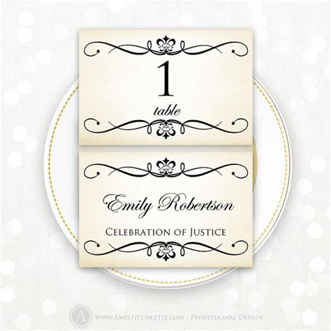 place card printable template wedding instant download diy