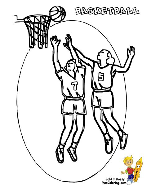 basketball uniform coloring page brawny basketball coloring yescoloring free nba sports