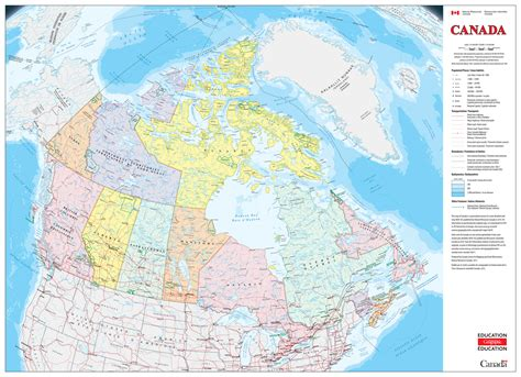 new rip proof classroom map of canada now available