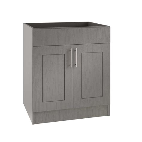 Outdoor Cabinet Doors Weatherstrong Assembled 30x34 5x24 In Palm Open Back Sink Outdoor Kitchen Base Cabinet