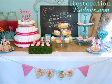 Three Nebraska Host Baby Shower How To Host A Baby Shower Part 5 The Dessert Table Restoration Redoux