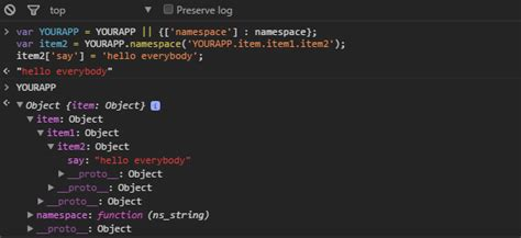 js module pattern namespace namespace and revealing module pattern in javascript