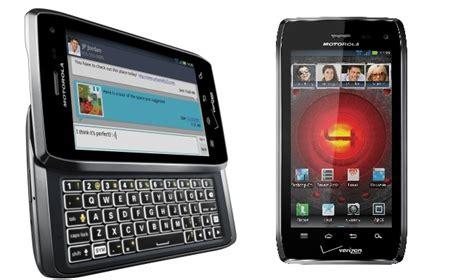 Hp Motorola Lte verizon motorola droid 4 announced qwerty keyboard 4g
