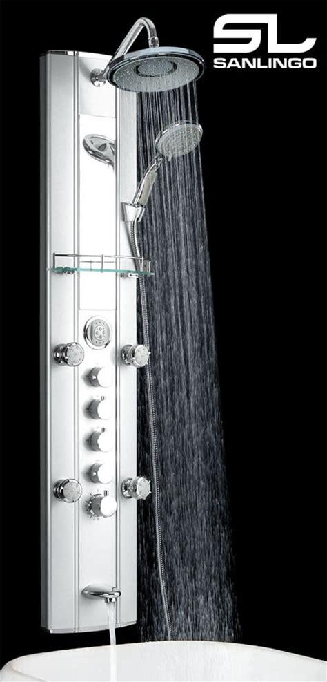 pannelli doccia idromassaggio pannello doccia idromassaggio termostato allu sanlingo