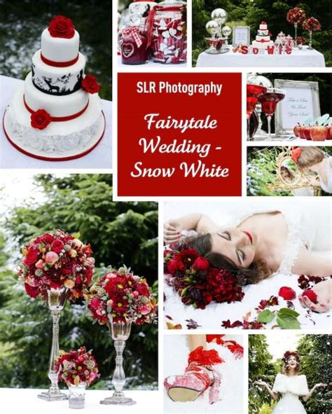 Snow White Collagen mood board a snow white wedding for wedding
