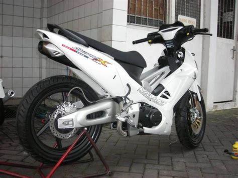 Modifikasi Supra X 125 Ban Kecil by Modifikasi Supra X 125 Fi Road Race Racing Thailook