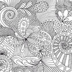 zentangle coloring pages coloring page printable zentangle inspired pattern by joartyjo