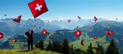 celebrating swiss national day in the luxurious city of